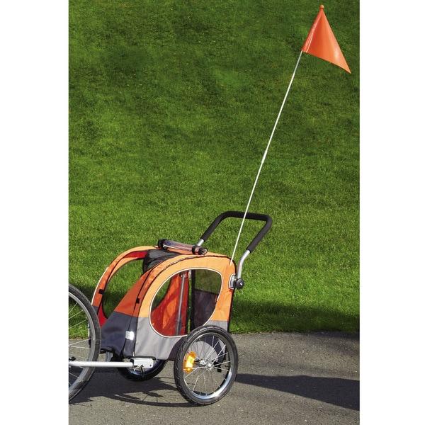 Guardian Gear Flash Orange Cross-Trainer Pet Stroller