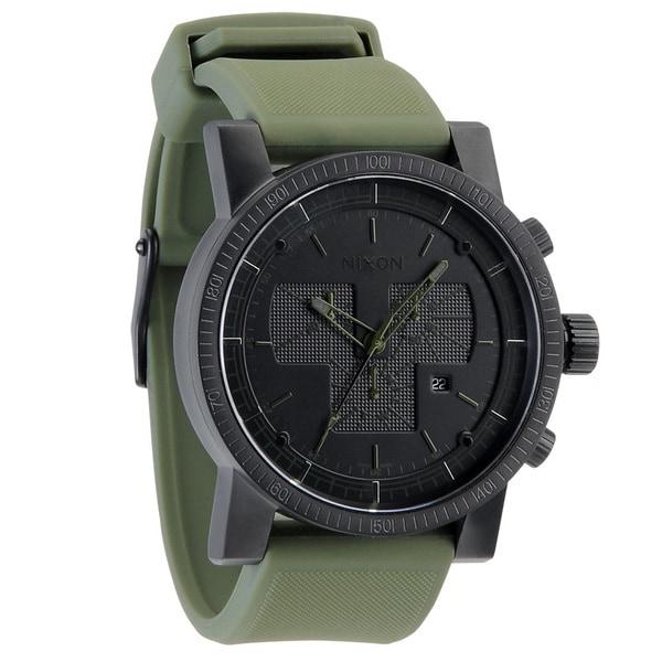 Nixon Men's 'Magnacon Black/ Green Watch
