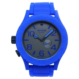 Nixon Men's Royal Blue Tide Dial Watch