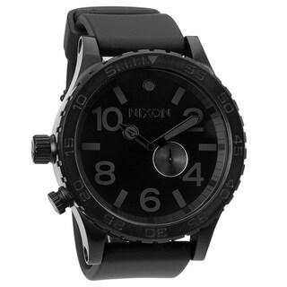 Nixon Men's Black Tide Subdial Watch