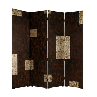 Evolution 4-panel Wooden Screen (China)