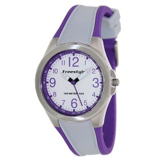 FreeStyle Women's Sport Two-Tone Silicone Strap Watch