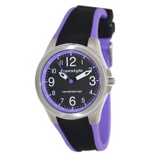 FreeStyle Women's Sport Black/ Purple Analog Watch