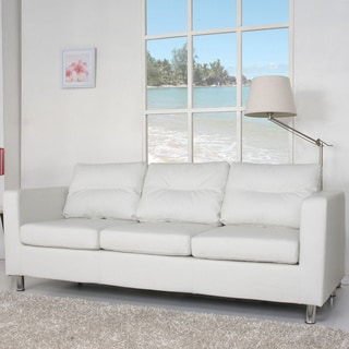 Detroit White Sofa