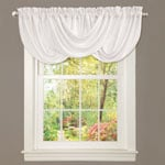 Lush Decor Lucia White Valance