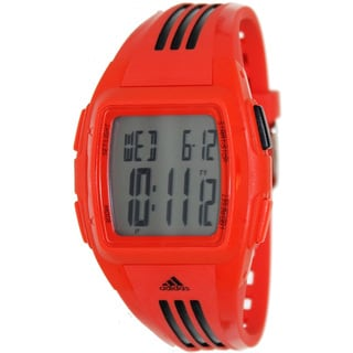 Adidas Women's 'Duramo' Red/ Black Digital Watch