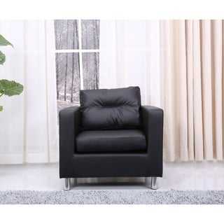 Detroit Black Arm Chair