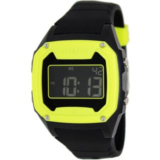 FreeStyle Men's 'Shark 101993' Black Satin Digital Quartz Watch