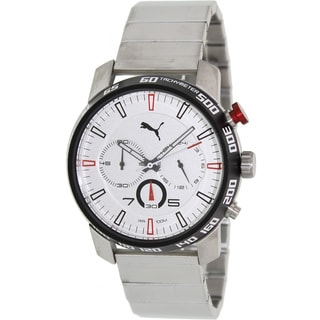 Puma Men's 'Motor' Stainless Steel Chronograph Watch