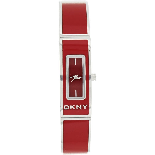DKNY Women's Pink Stainless Steel Watch