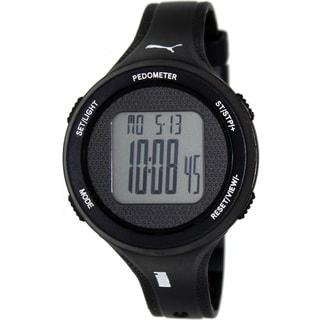 Puma Men's 'Active' Black Digital Watch