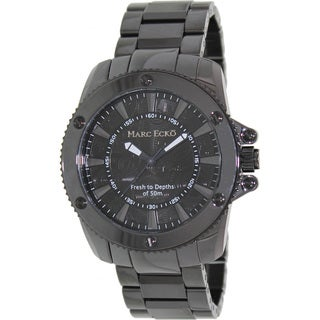 Marc Ecko Men's Black Ceramic Quartz Watch