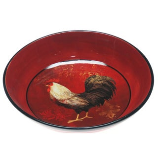 Certified International Avignon Rooster Pasta/ Serving Bowl