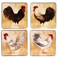 Certified International Avignon Rooster Dinner Plate (Set of 4)