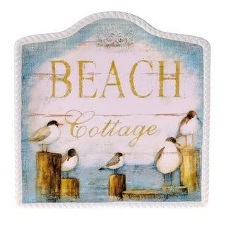 Certified International Beach Cottage Platter