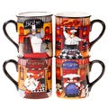 Certified International Trattoria Mug (Set of 4)