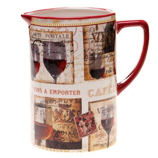 Certified International French Cellar Pitcher