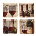 Certified International French Cellar Salad Plates (Set of 4)