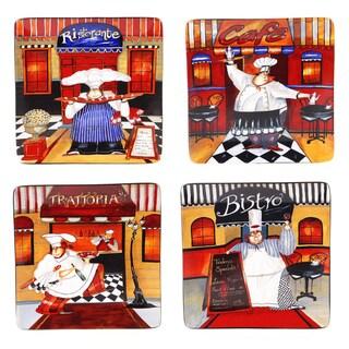 Certified International Trattoria Dinner Plates (Set of 4)