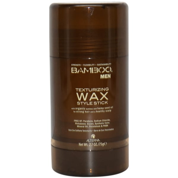 Bamboo Men Texturizing Wax Style Stick by Alterna for Men