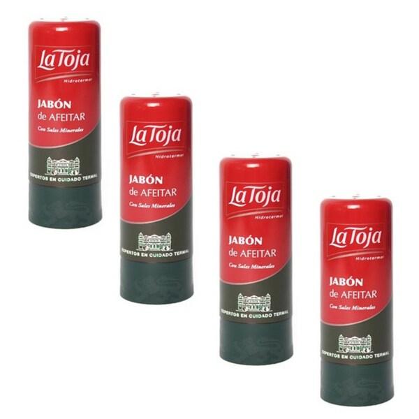 La Toja Shaving Stick Jabon de Afeitar (Pack of 4)