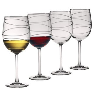Halo Collection Wine Glasses (Set of 4)