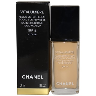 Chanel Vitalumiere Satin Smoothing #20 Clair Fluid Makeup