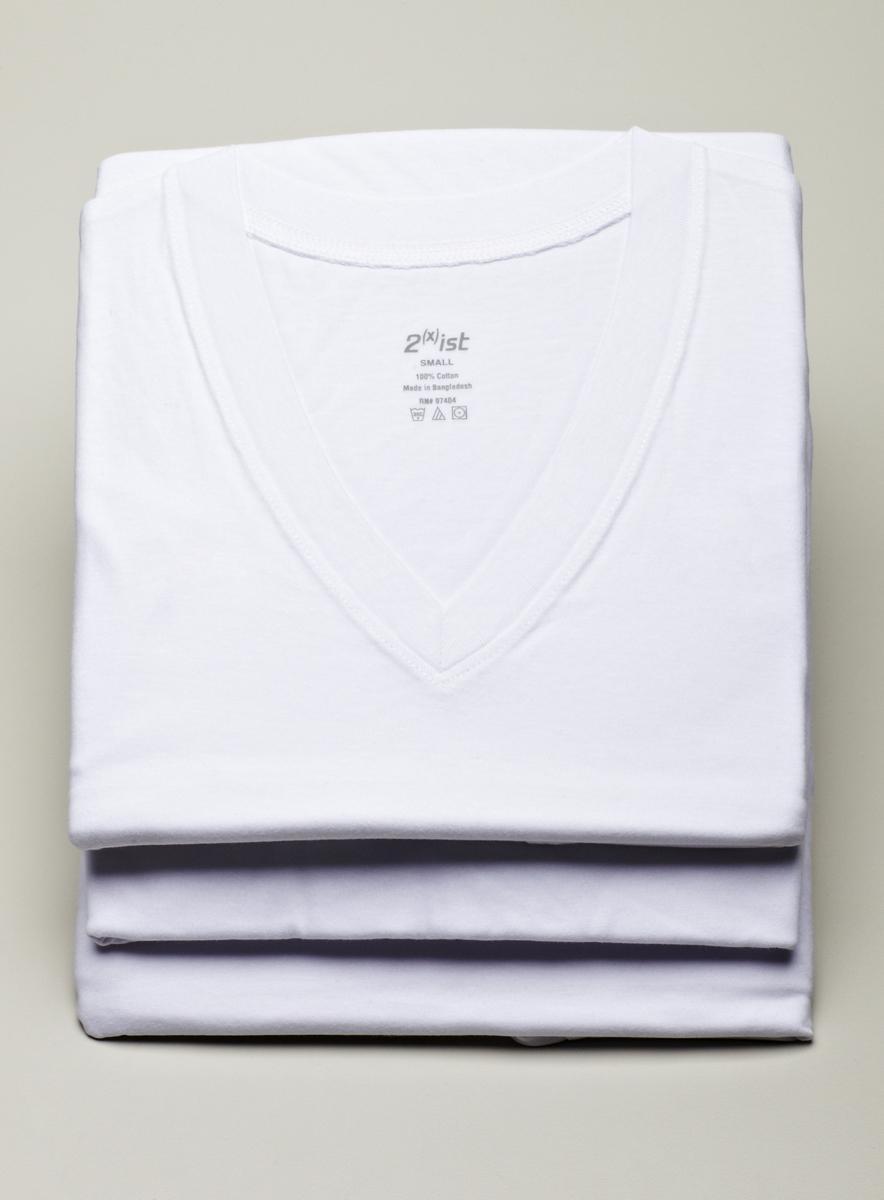 2(x)ist Mens 3-Pack V-Neck Undershirts