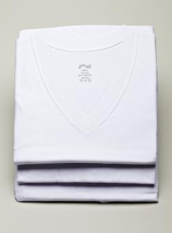 2(x)ist Mens 3-Pack V-Neck Undershirts