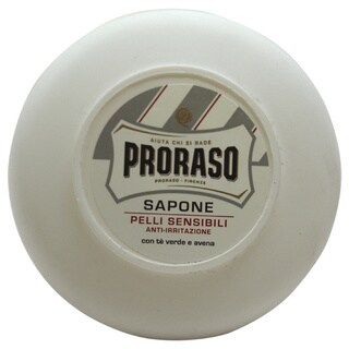 Proraso Green Tea & Oat Sensitive Skin Shave Soap