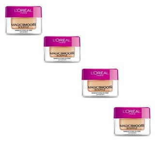 L'Oreal MagicSmooth Souffle Natural Ivory 514 Foundation (Pack of 4)