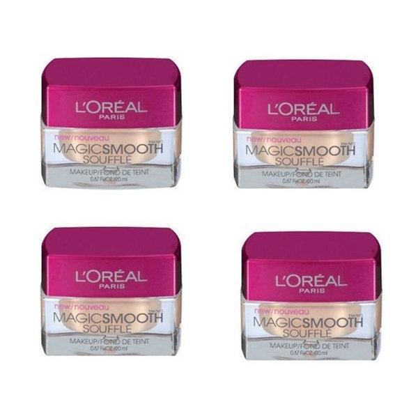 L'Oreal MagicSmooth Souffle 'Classic Tan 532' Makeup (Pack of 4)