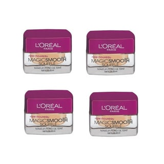L'Oreal MagicSmooth Souffle Sand Beige 526 Foundation (Pack of 4)