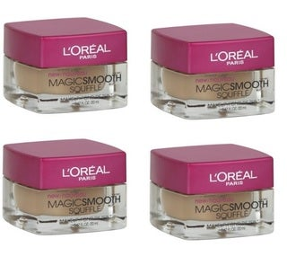 L'Oreal MagicSmooth Souffle Nude Beige 516 Foundation (Pack of 4)
