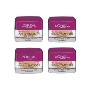 L'Oreal MagicSmooth Souffle Sun Beige 530 Foundation (Pack of 4)
