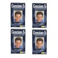Grecian 5 Men's 5-Minute Haircolor 'Real Dark Brown G45' (Pack of 4)
