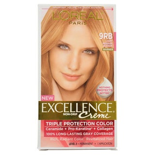 L'Oreal Excellence Creme 'Light Reddish Blonde 9RB' Warmer Hair Color