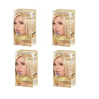 L'Oreal Superior Preference 'Whispersoft Blonde 10WB' Cooler Hair Color (Pack of 4)