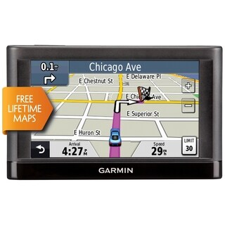 Garmin Nuvi 42LM GPS Navigation System with Lifetime Maps