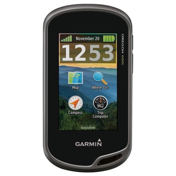 Garmin Oregon 600t Handheld GPS Navigator