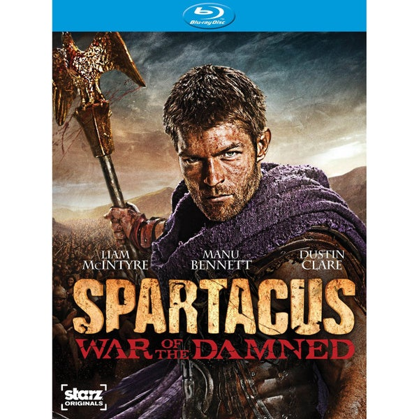 Spartacus: War of the Damned - Season 3 (Blu-ray Disc) 11350507