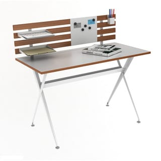 Genius Desk with Hutch