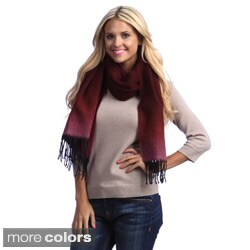Cashmere Showroom Ombre Dye Merino Wool Scarf