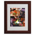 Miguel Paredes 'Urban Collage IV' Framed Matted Art
