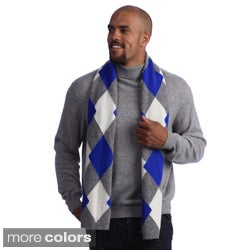 Cashmere Showroom Argyle Scarf