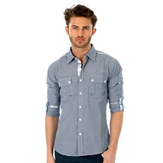 191 Unlimited Men's Slim Fit Woven Shirt