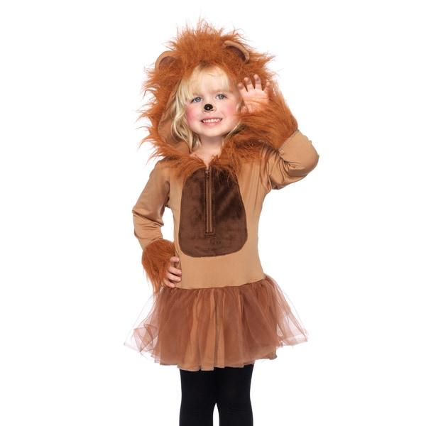 Leg Avenue Girls Cuddly Lion Petticoat Dress