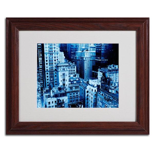 Miguel Paredes 'Upper West Side' Framed Matted Art