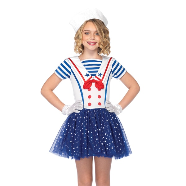 Leg Avenue Girls 2-piece Sailor Sweetie Petticoat Dress