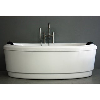 SanSiro Modern Concorde 71-Inch Air Jetted Bathtub